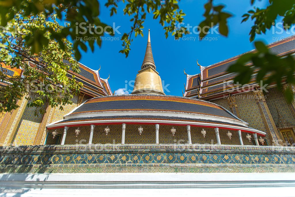 Wat Rajabopit or Rachabophit Royal Tombs and temple royalty-free stock photo