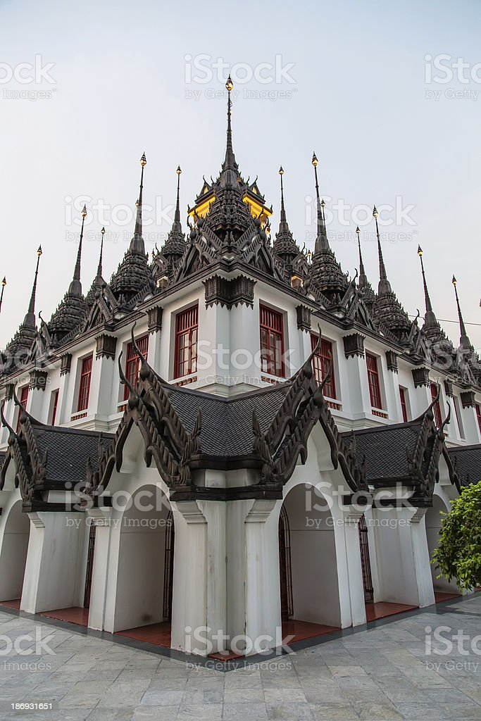Wat Ratchanadda - thai temple royalty-free stock photo