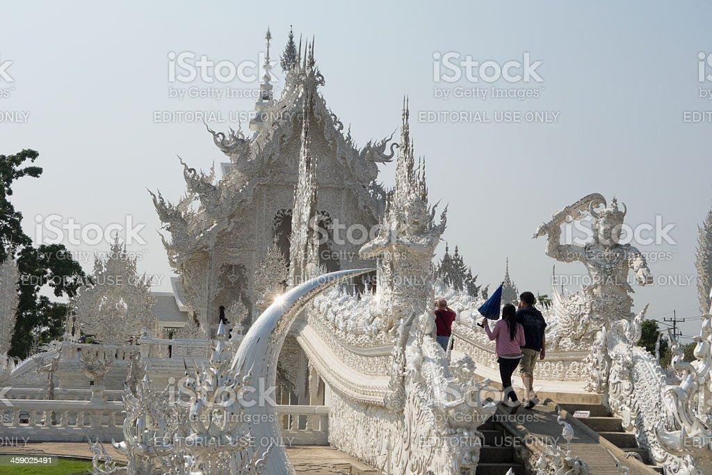Wat Rong Khun. royalty-free stock photo