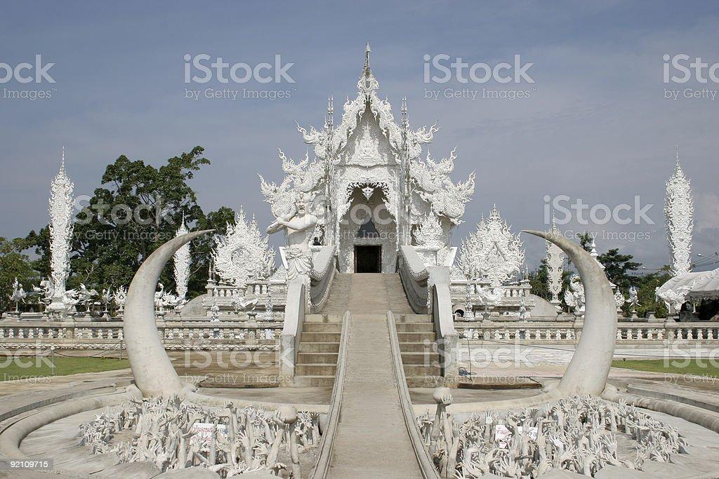 Wat Rong Khun royalty-free stock photo