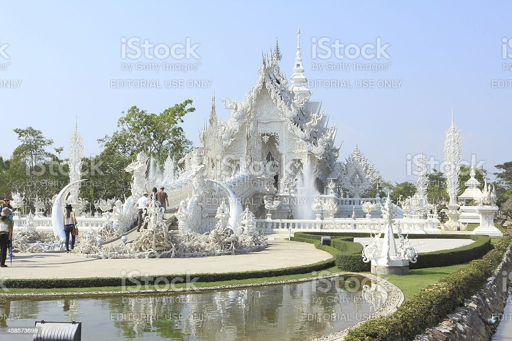 Wat Rong Koon Temple royalty-free stock photo