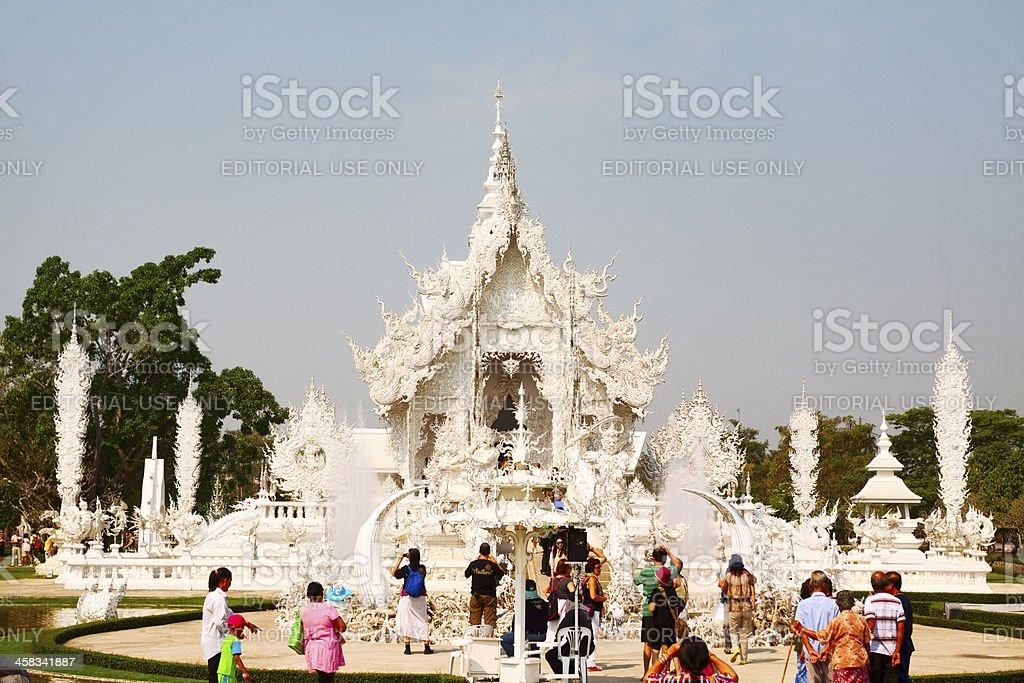 Wat Rong Kuhn royalty-free stock photo