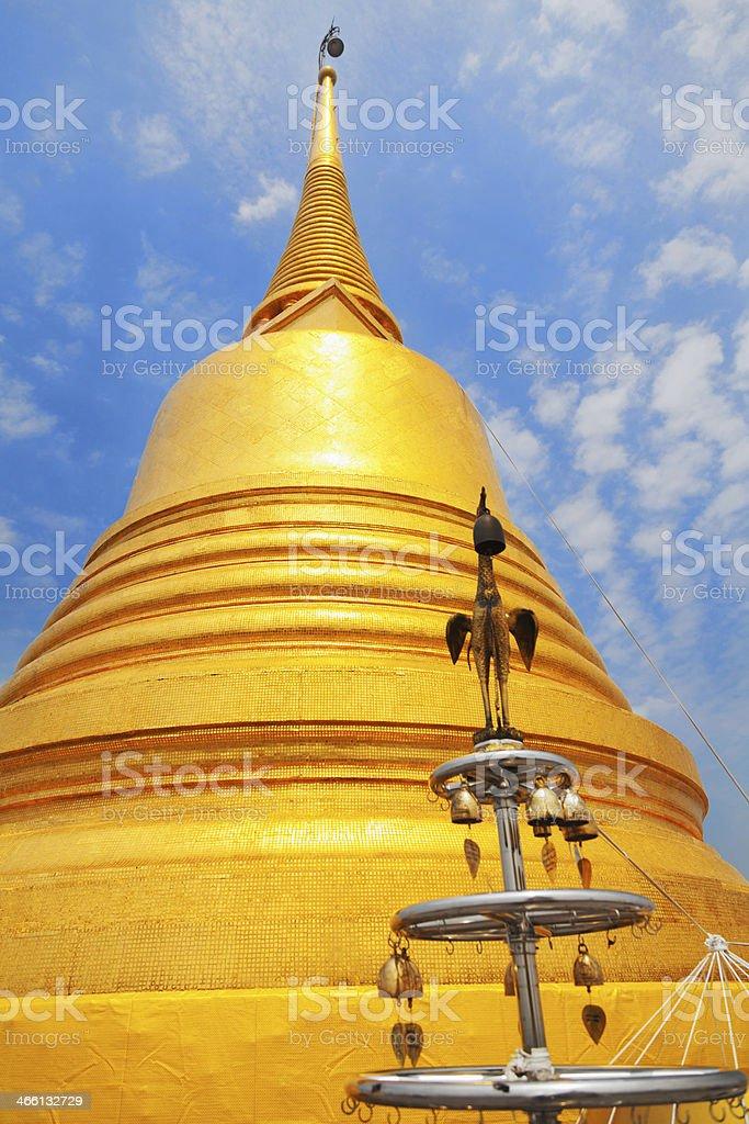 Wat Saket, Bangkok stock photo