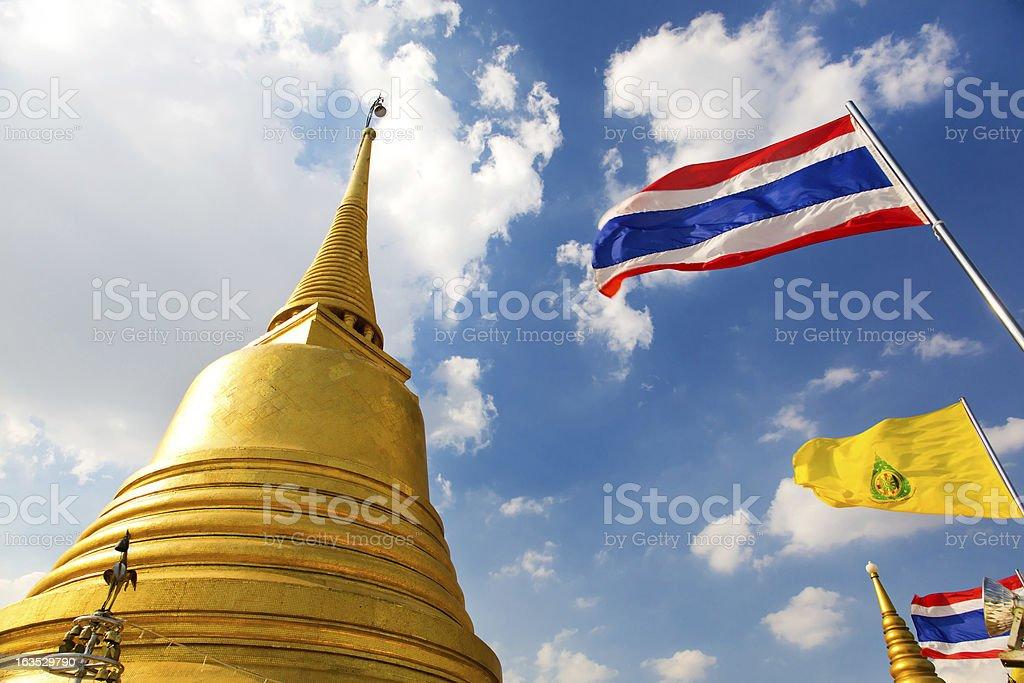 Wat Saket, Bangkok,Thailand.. stock photo
