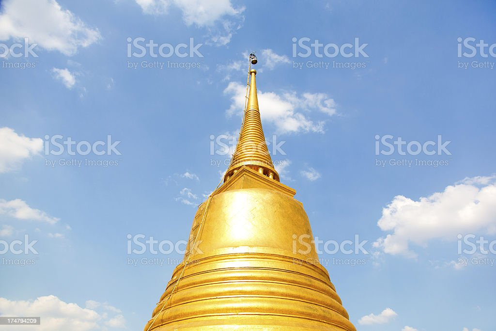 Wat Saket, Bangkok,Thailand royalty-free stock photo