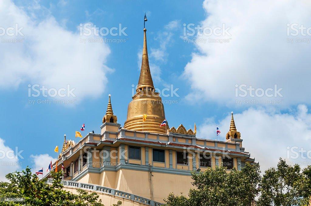 Wat Saket - 'Golden Mount' stock photo