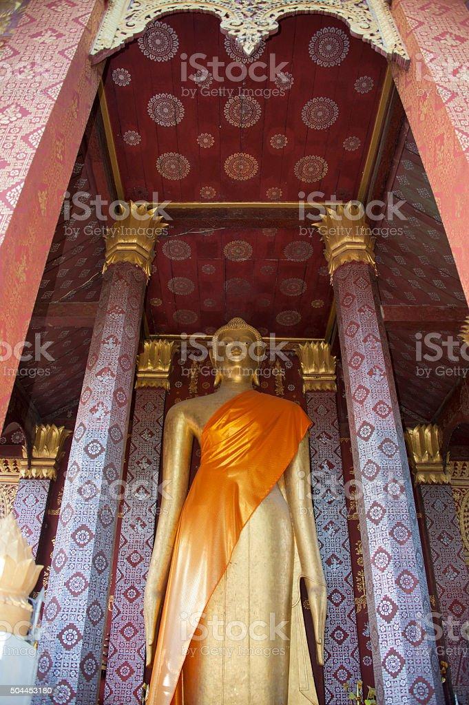 Wat Sen in Luang Prabang stock photo
