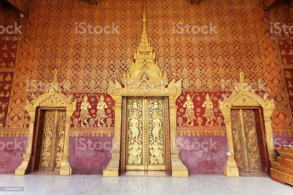 Wat Sene In Luang Prabang, Laos stock photo