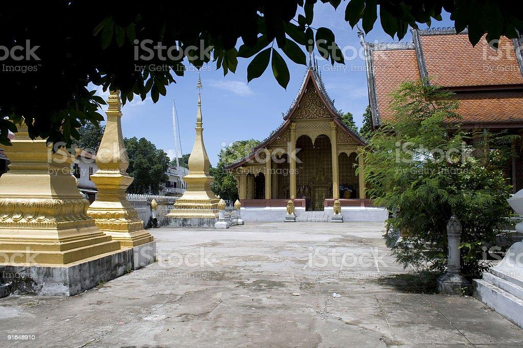 Wat sene soukharam in Luang Prabang, Laos stock photo