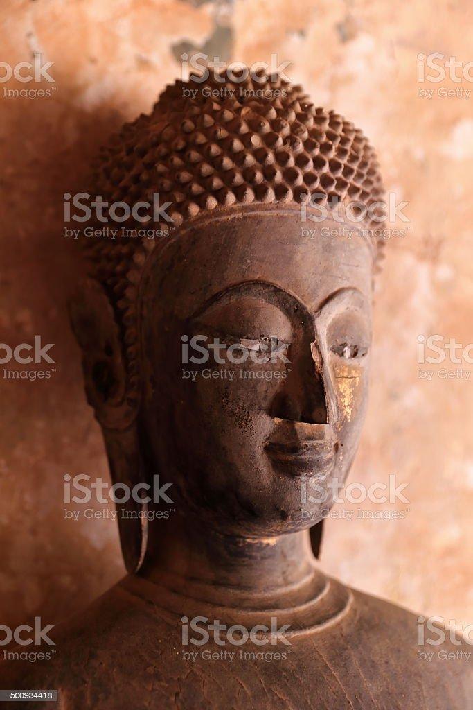 wat sisaket-buddha stock photo