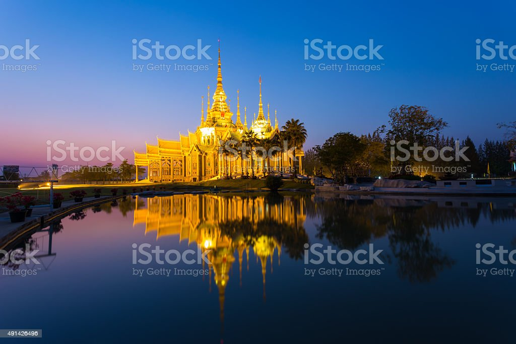 Wat Sorapong in Nakhon Ratchasima or Korat, Thailand stock photo