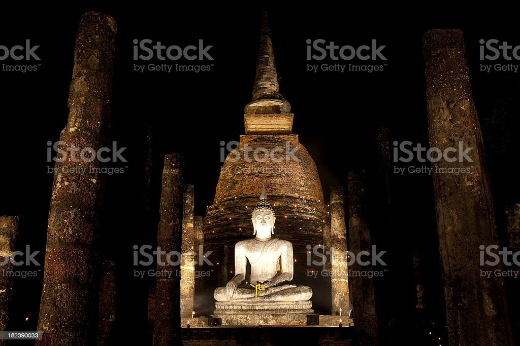 wat sra si sukhothai thailand royalty-free stock photo