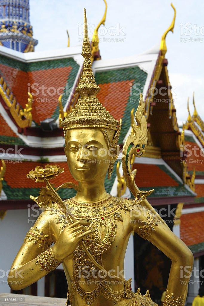 Wat Statue royalty-free stock photo