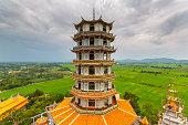 Wat tham sua in Kanchanaburi Thailand