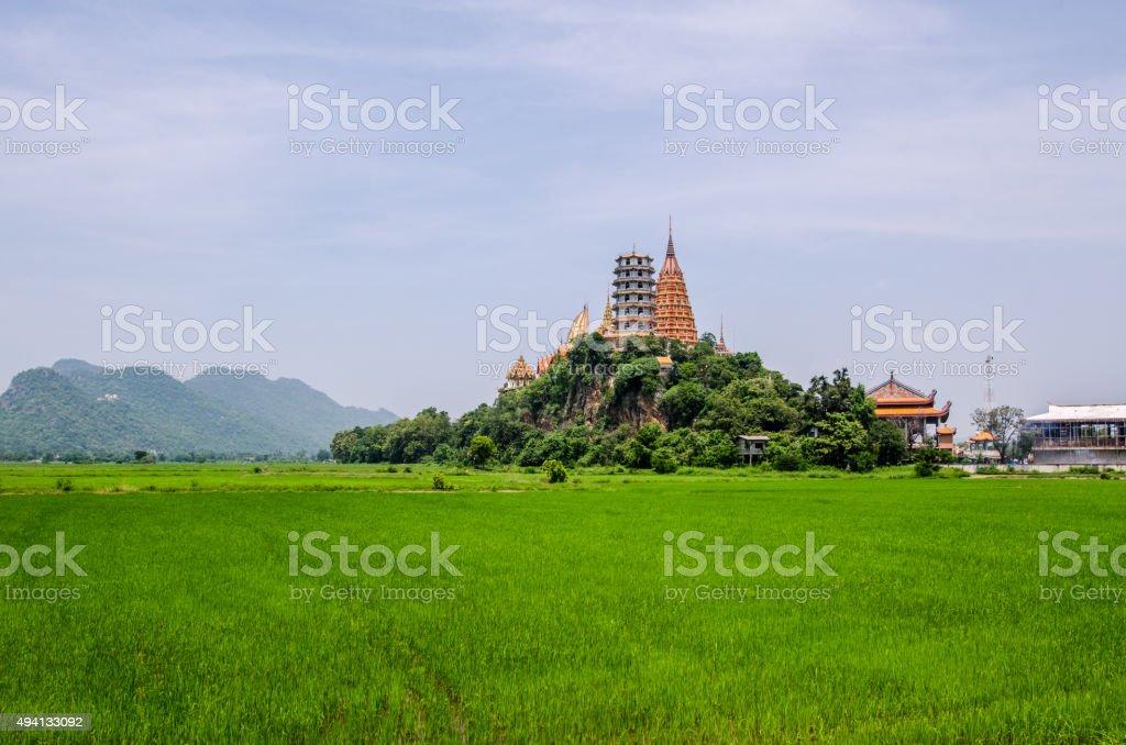Wat Tham Suea,Kanchanaburi,Thailand stock photo
