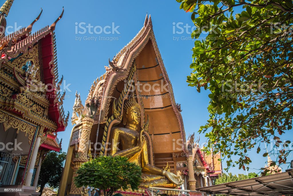 Wat Thum Sua - Tiger Cave Temple,Buddhist Temple in Thailand stock photo