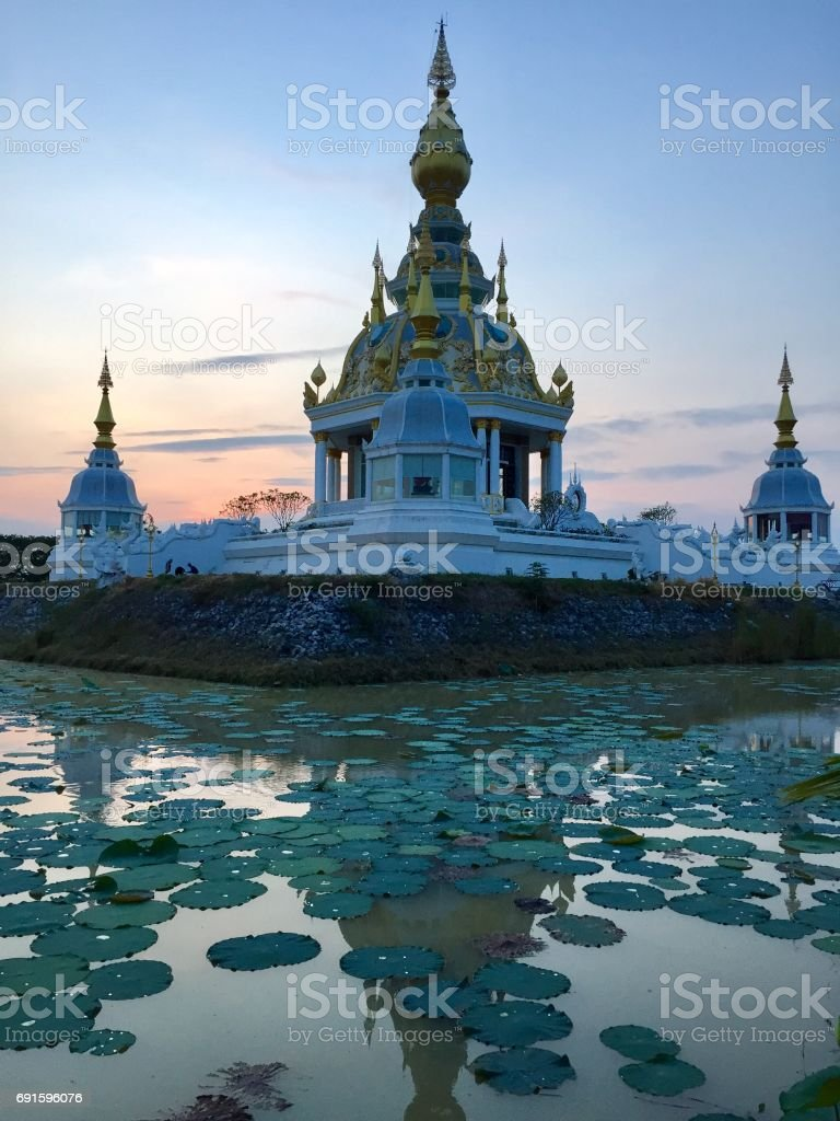 Wat thung setthi Khon Kaen, Thailand stock photo