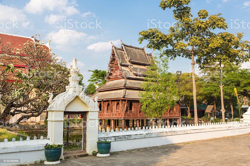 Wat Thung Si Muang in Ubon Ratchatani in Thailand stock photo