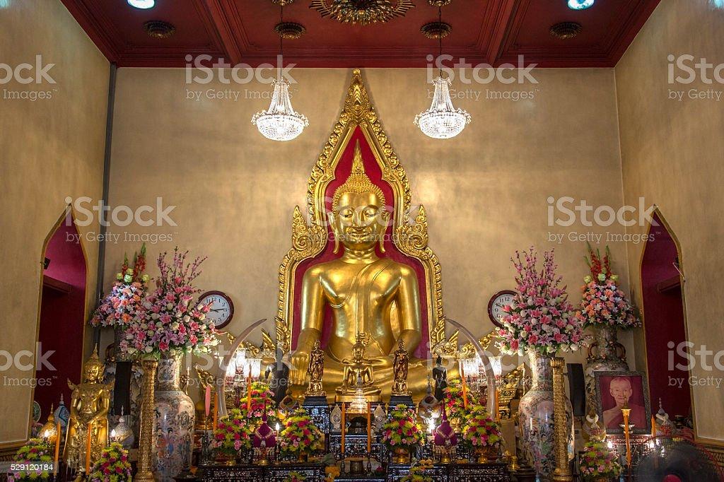 Wat Traimit - Bangkok - Thailand stock photo