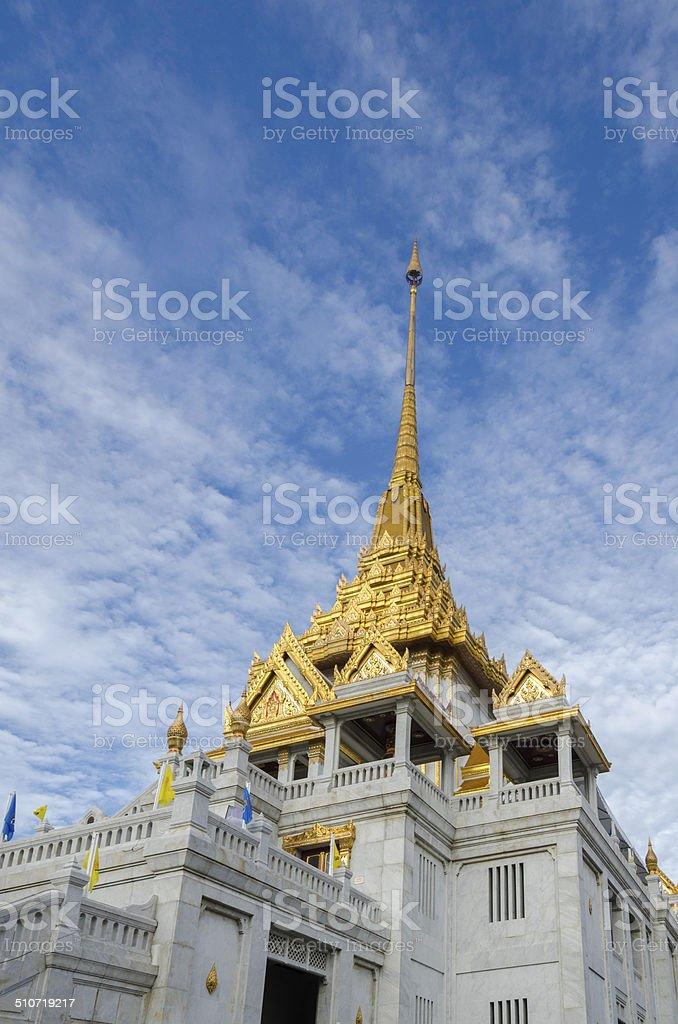 Wat Trimit, Bangkok, Thailand. Famous for its gigantic stock photo