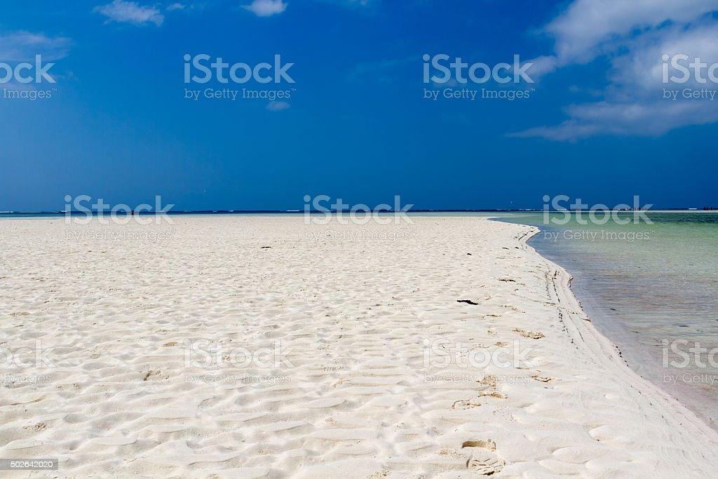 Watamu beach - Kenya stock photo