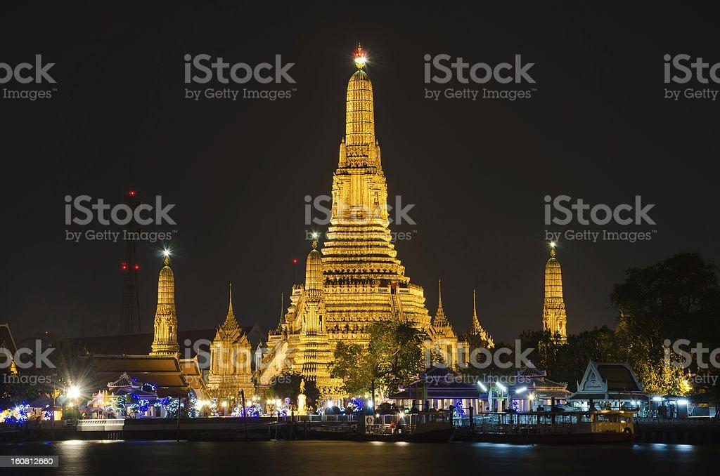 Wat-Arun royalty-free stock photo