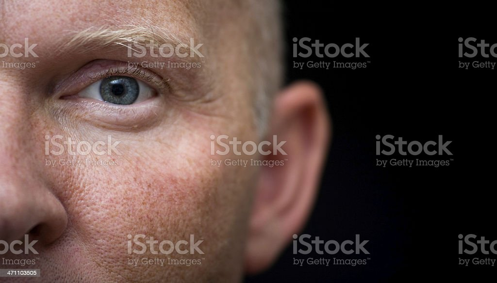 Watch And Listen royalty-free stock photo