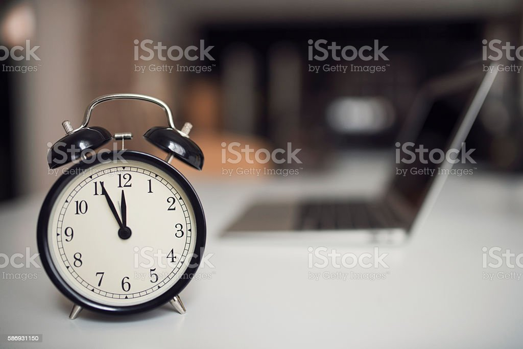 Watch for the time limit! stock photo