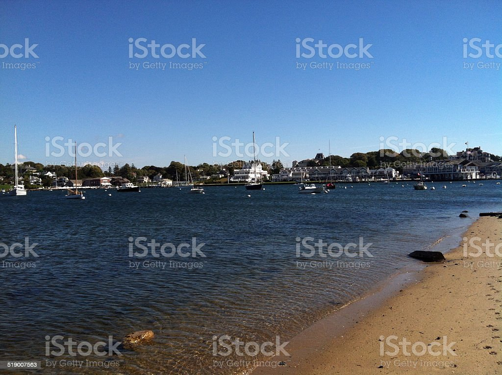 Watch Hill Cove, Westerly, Rhode Island stock photo