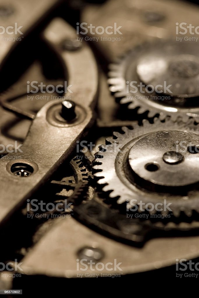 watch mechanism royalty-free stock photo
