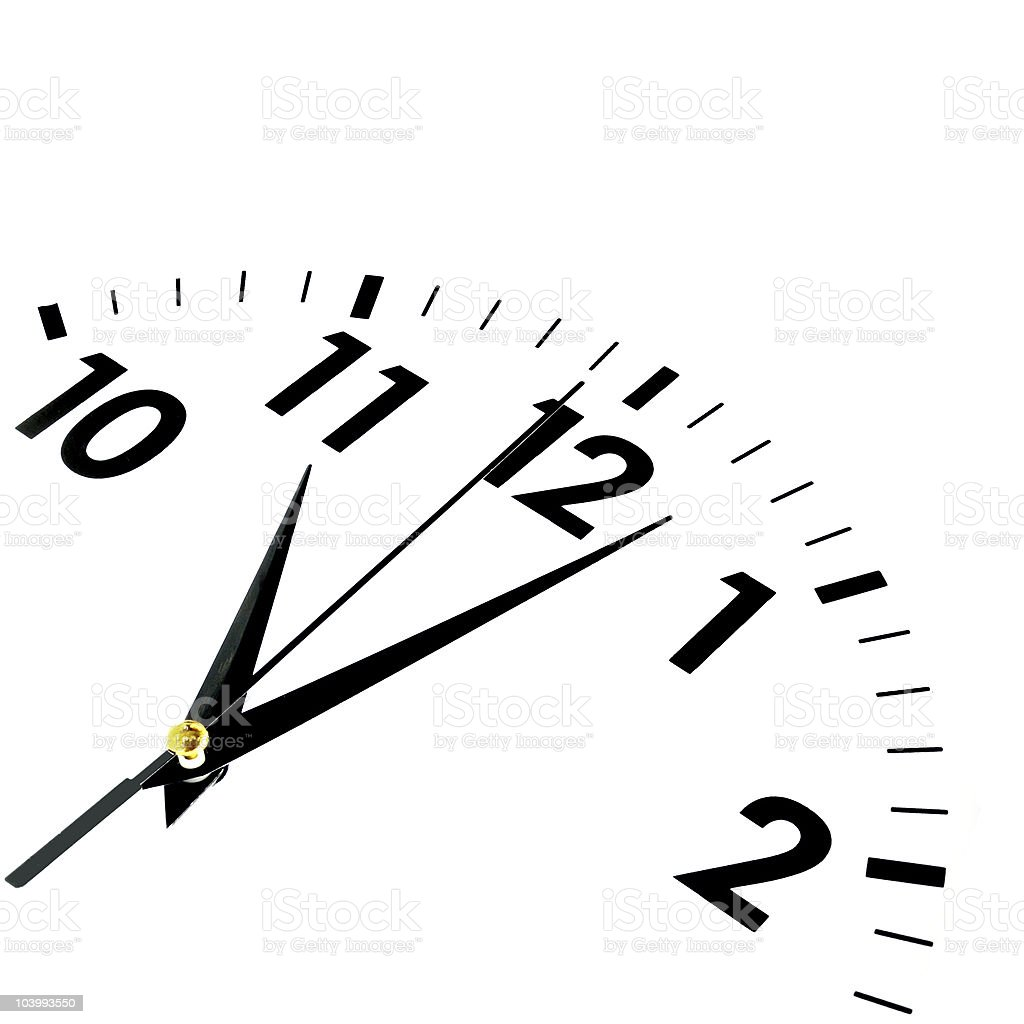 watch or clock royalty-free stock photo