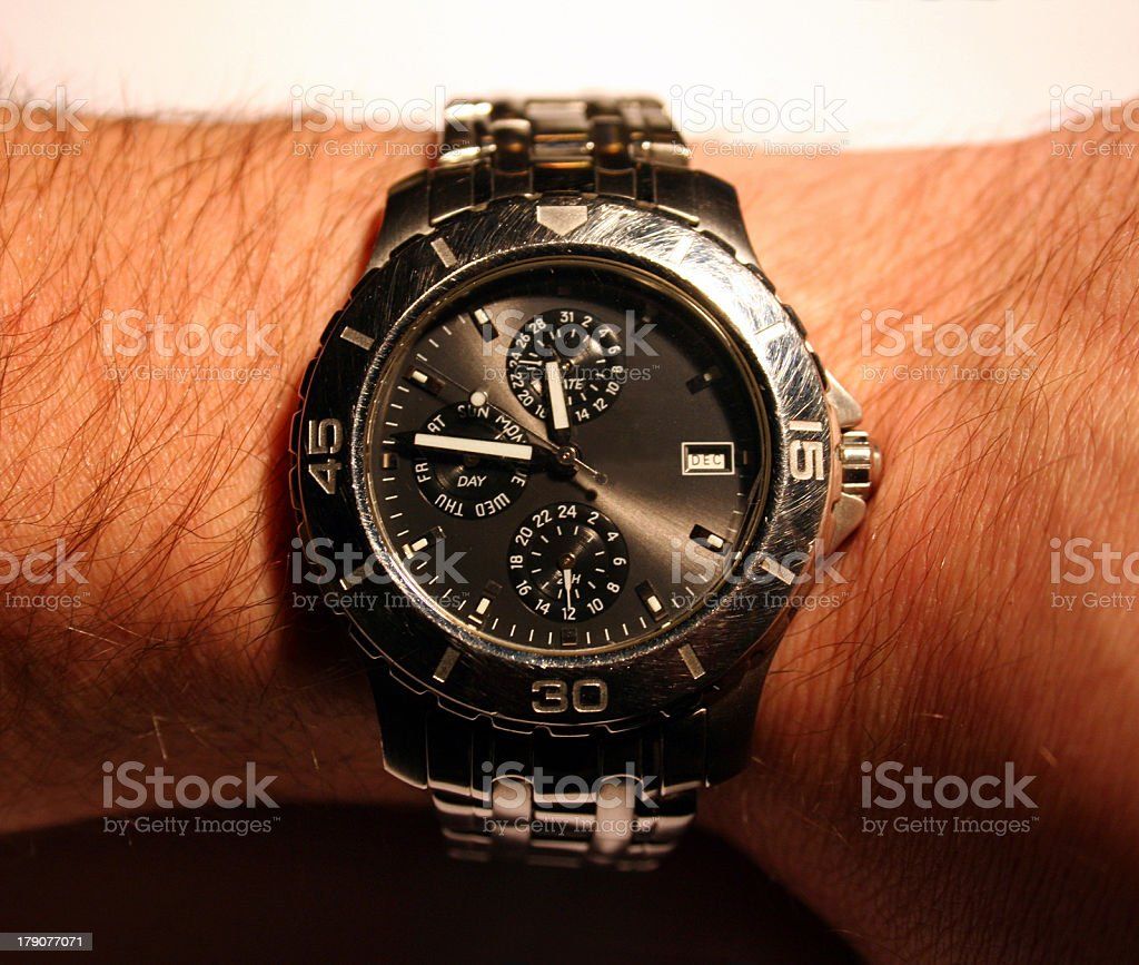 Watch stock photo
