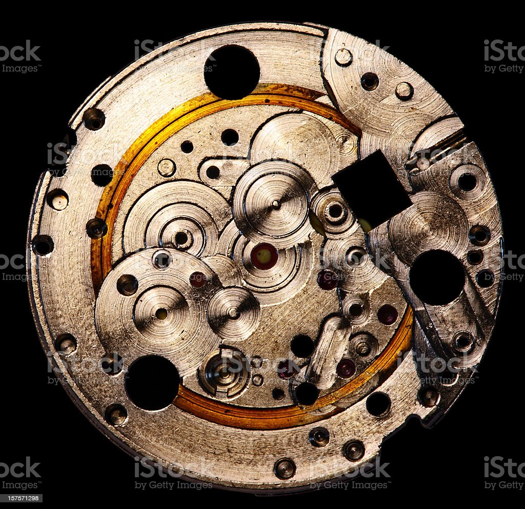 Watch plate royalty-free stock photo