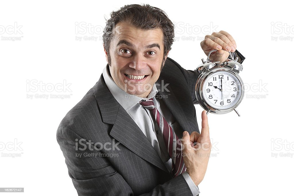 Watch the time stock photo