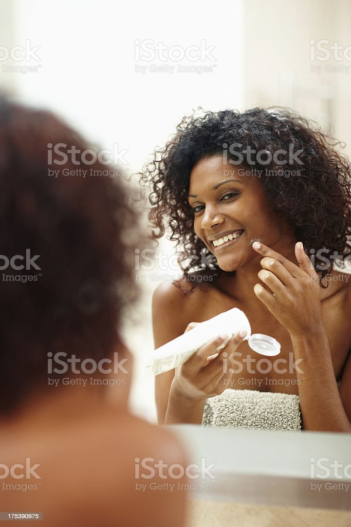 Watch those irritating blemishes disappear! - Skincare & Beauty royalty-free stock photo