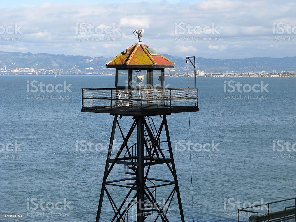 Watch tower stock photo