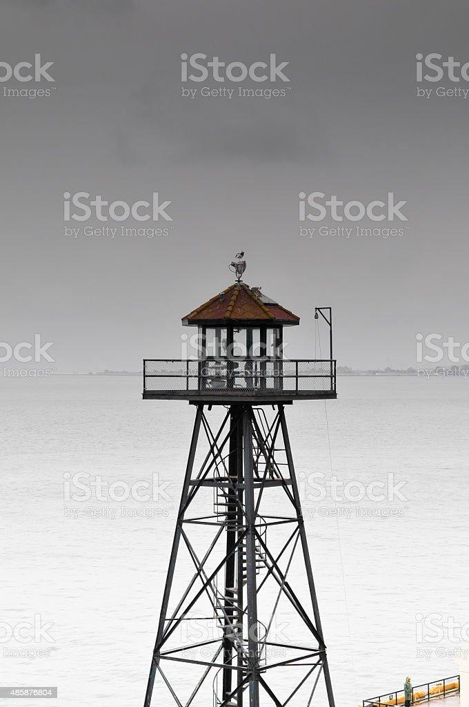 Watch tower stock photo