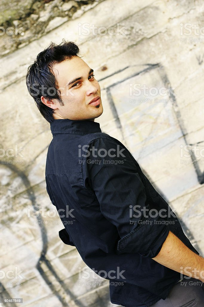 Watchful and Wary royalty-free stock photo