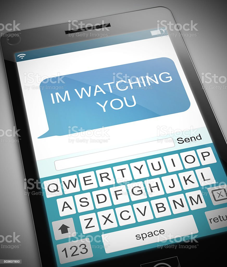 Watching concept. stock photo