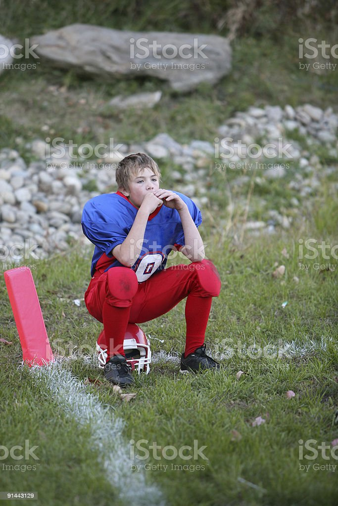 watching the game royalty-free stock photo