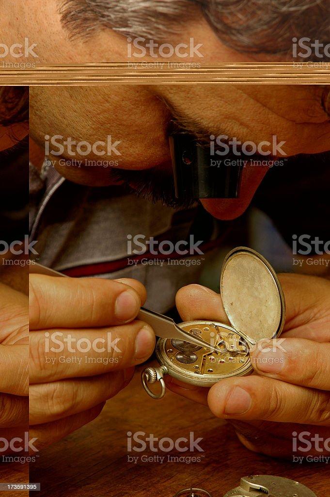 watchmaker stock photo