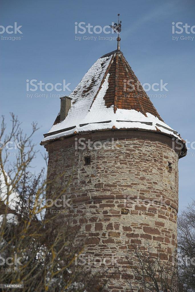 Watchtower stock photo