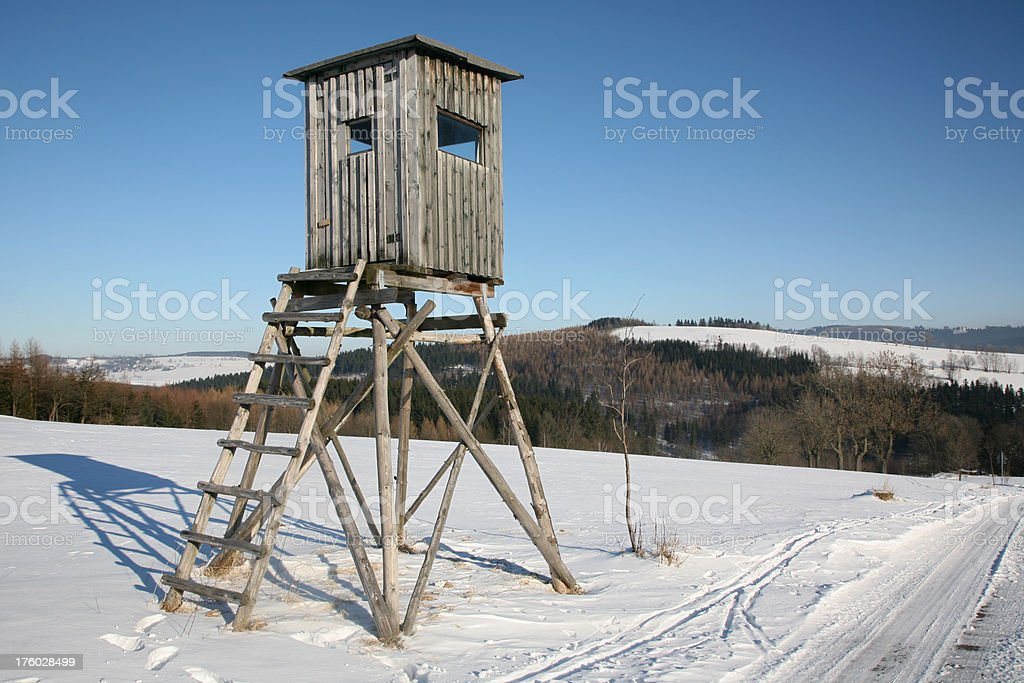 Watchtower royalty-free stock photo