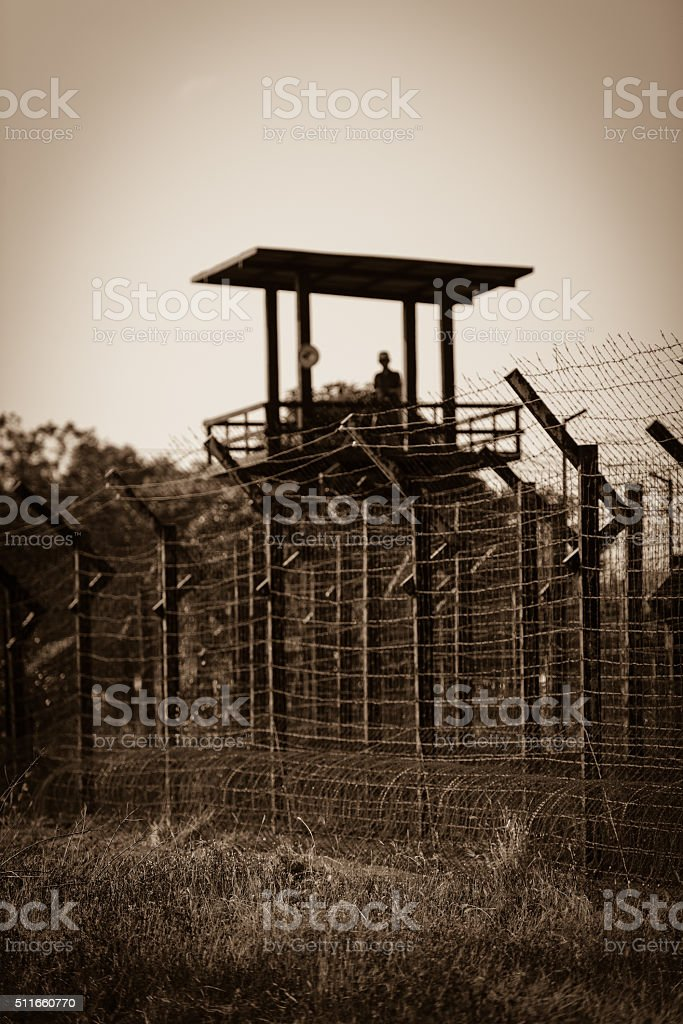 Watchtower stock photo