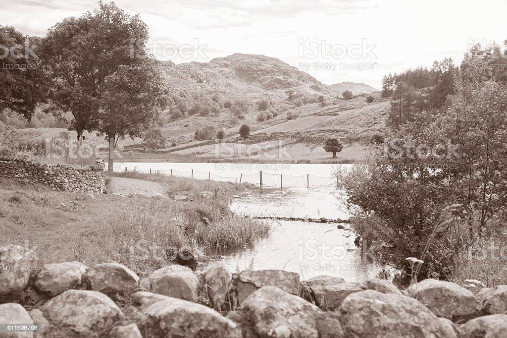 Watendlath; Lake District; England; stock photo