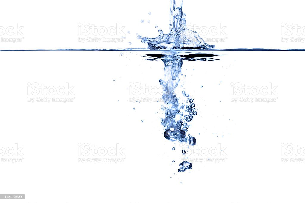 Water abstract. royalty-free stock photo