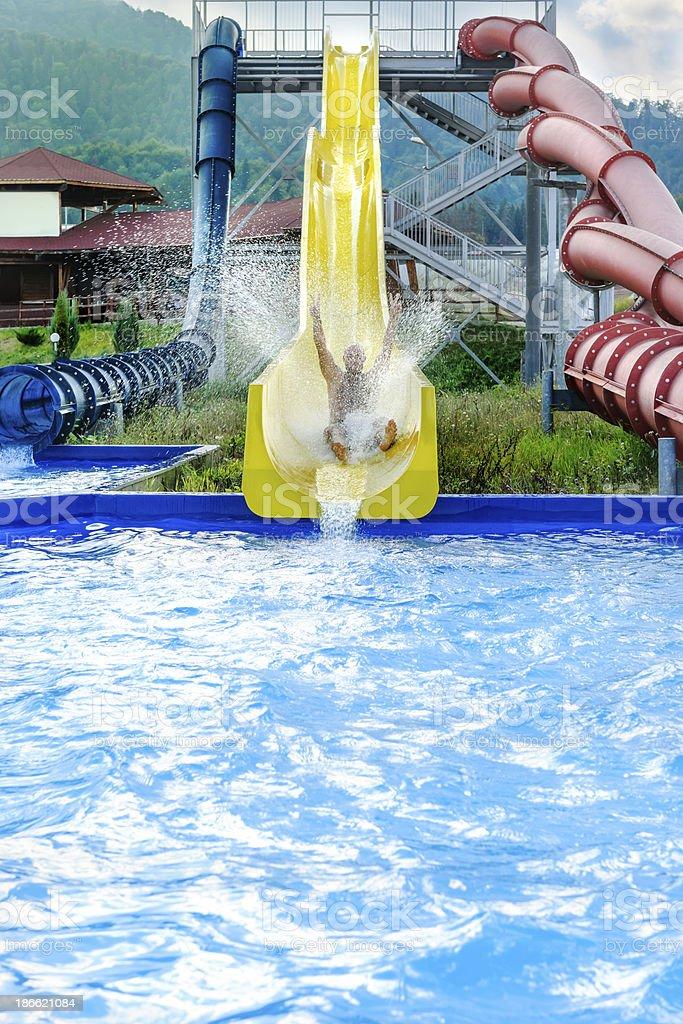 water adventure royalty-free stock photo