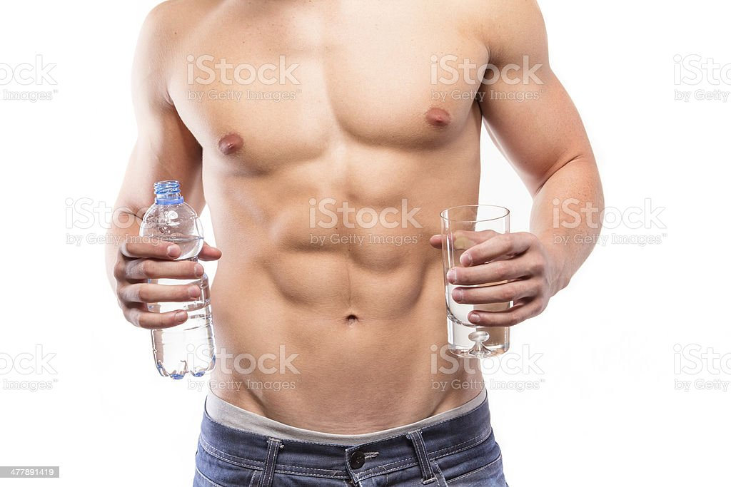 Water and health stock photo