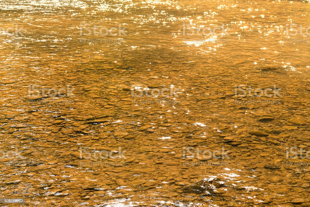 water and rock in river for nature abstract background stock photo