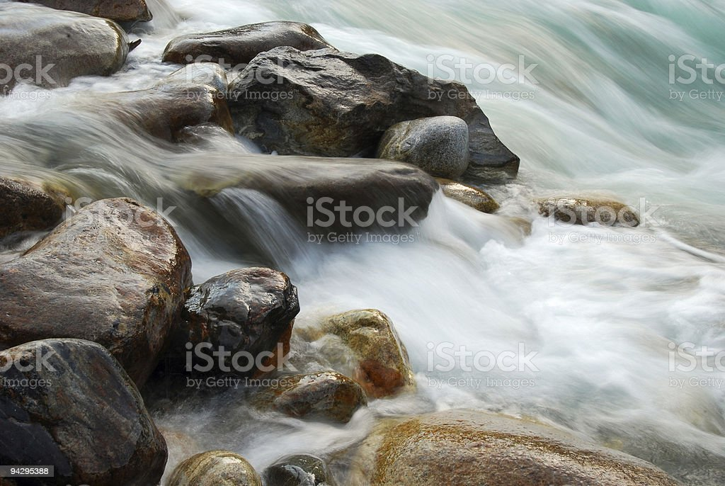 water and stone stock photo